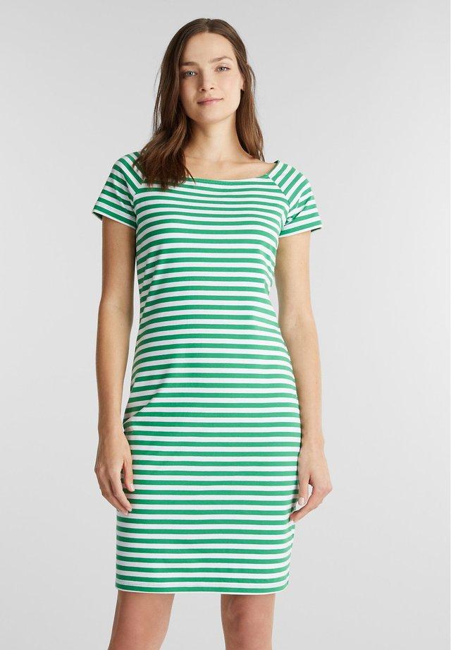 Jerseykjole - green