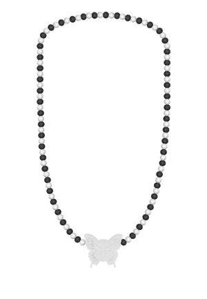 BUTTERFLY - Necklace - white
