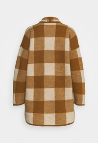 Madewell - PLAID  - Classic coat - heather/parchment - 1