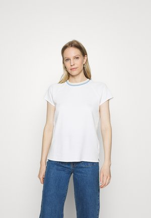 WITH TIPPING - T-shirt imprimé - scandinavian white