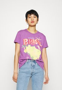 Farm Rio - COME TO BRASIL - Print T-shirt - lilac - 0