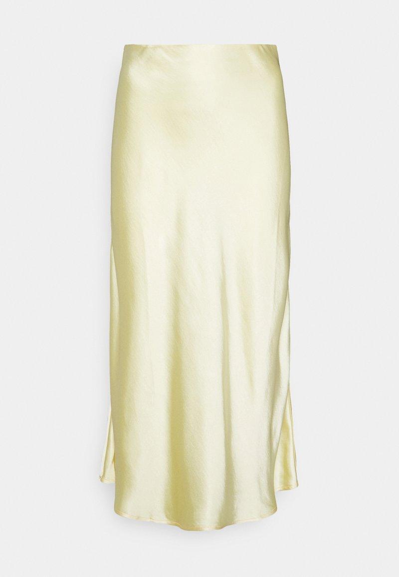 YAS - YASPASTELLA MIDI SKIRT - A-line skirt - french vanilla