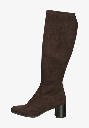 Laarzen - dark brown stret