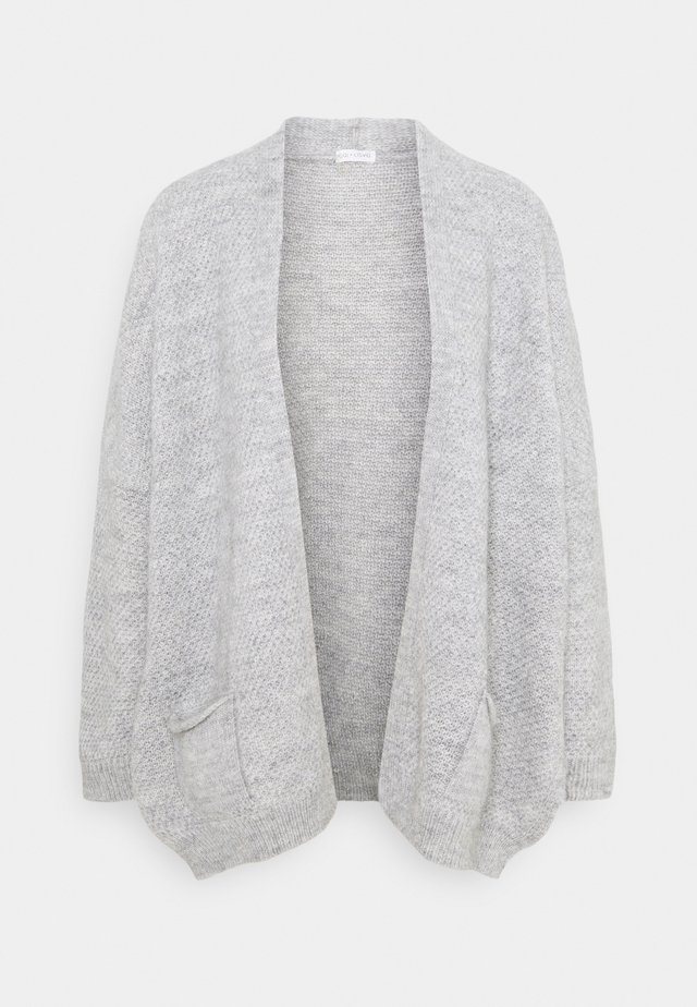 CHARLOTTE - Strikjakke /Cardigans - light grey melange