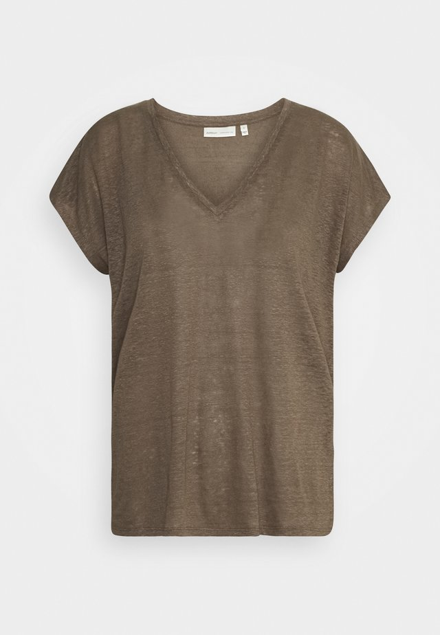 FAYLINN  - Basic T-shirt - sandy grey