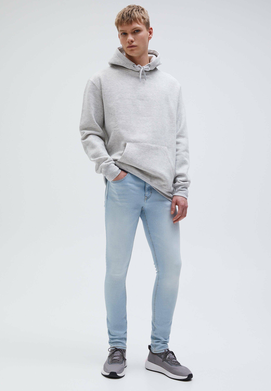 Herren SUPERSKINNY-BLEACH-LOOK - Jeans Skinny Fit