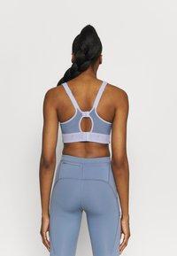 Nike Performance - ALPHA BRA - High support sports bra - ghost/ashen slate/black - 2