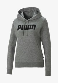 Puma - Felpa con cappuccio - light gray heather - 0