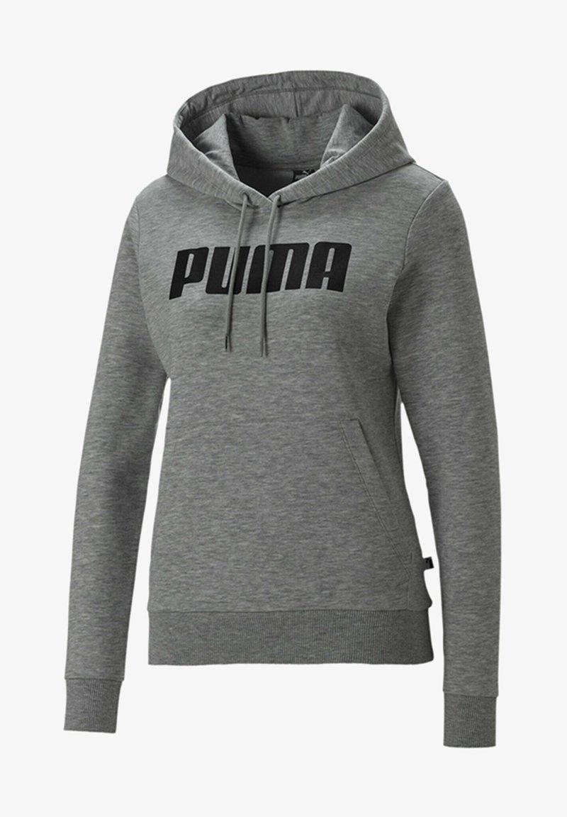 Puma - Sweat à capuche - light gray heather