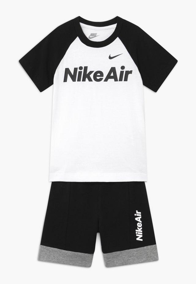 AIR SET - Pantalones deportivos - black