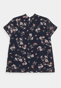 Vero Moda - VMZALLIE  - Print T-shirt - navy blazer/zallie - 1