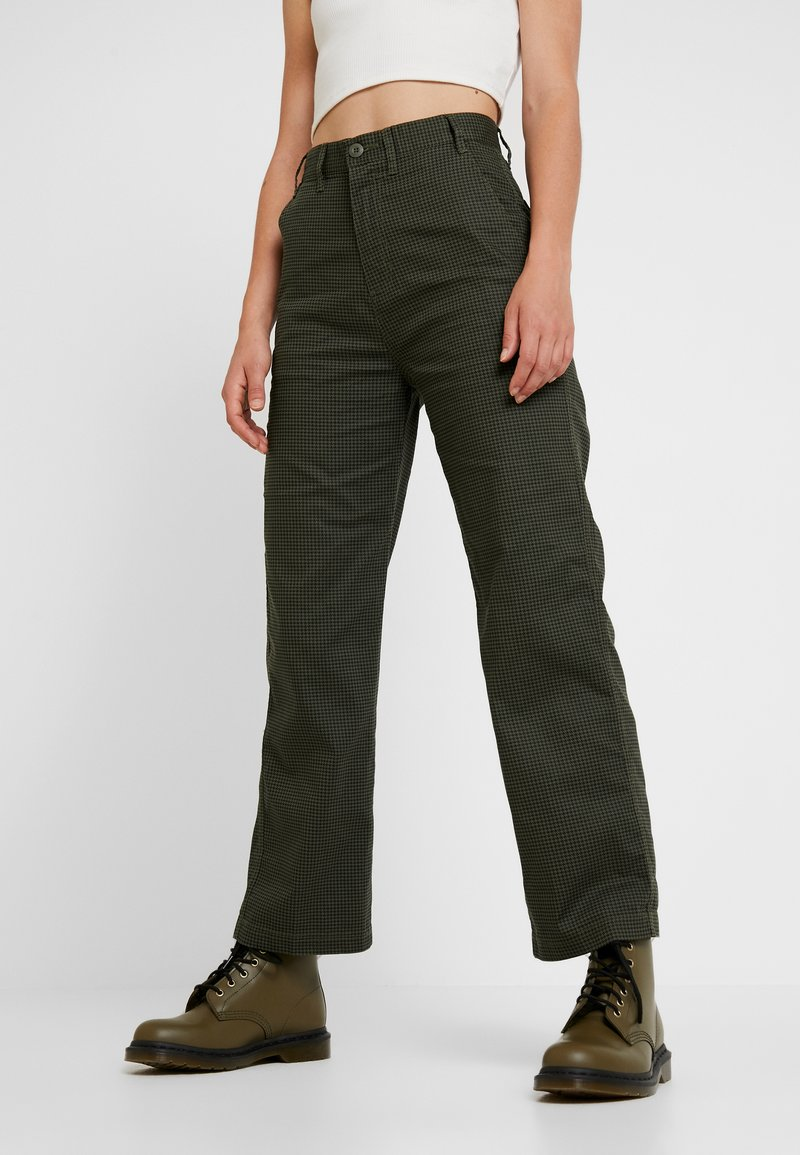Obey Clothing - OLLIE PANT - Trousers - olive multi