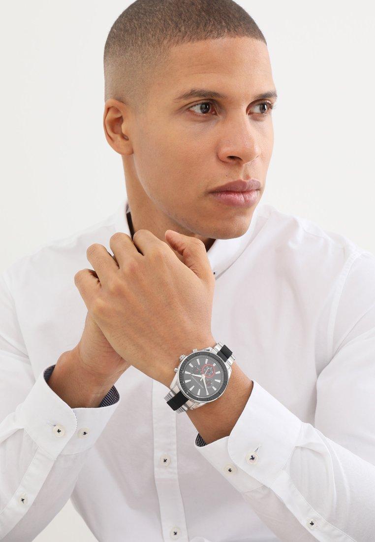 Armani Exchange - Chronograph watch - silver-coloured/schwarz