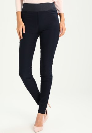 SHANTAL POWER - Trousers - dark blue