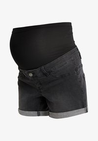 Forever Fit - EXCLUSIVE - Denim shorts - washed black - 4