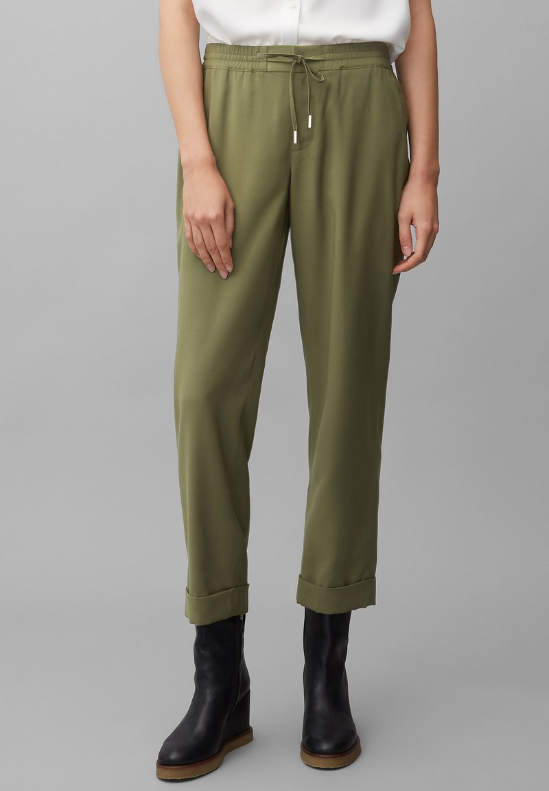 Marc O'Polo - MOD. KIBY - Tracksuit bottoms - natural olive