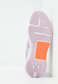 Under Armour - HOVR RISE - Trainings-/Fitnessschuh - pink fog/white/peach plasma - 4