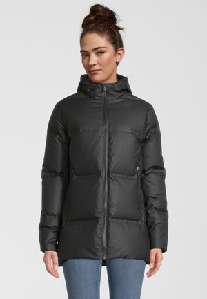 RIGA - Gewatteerde jas - black