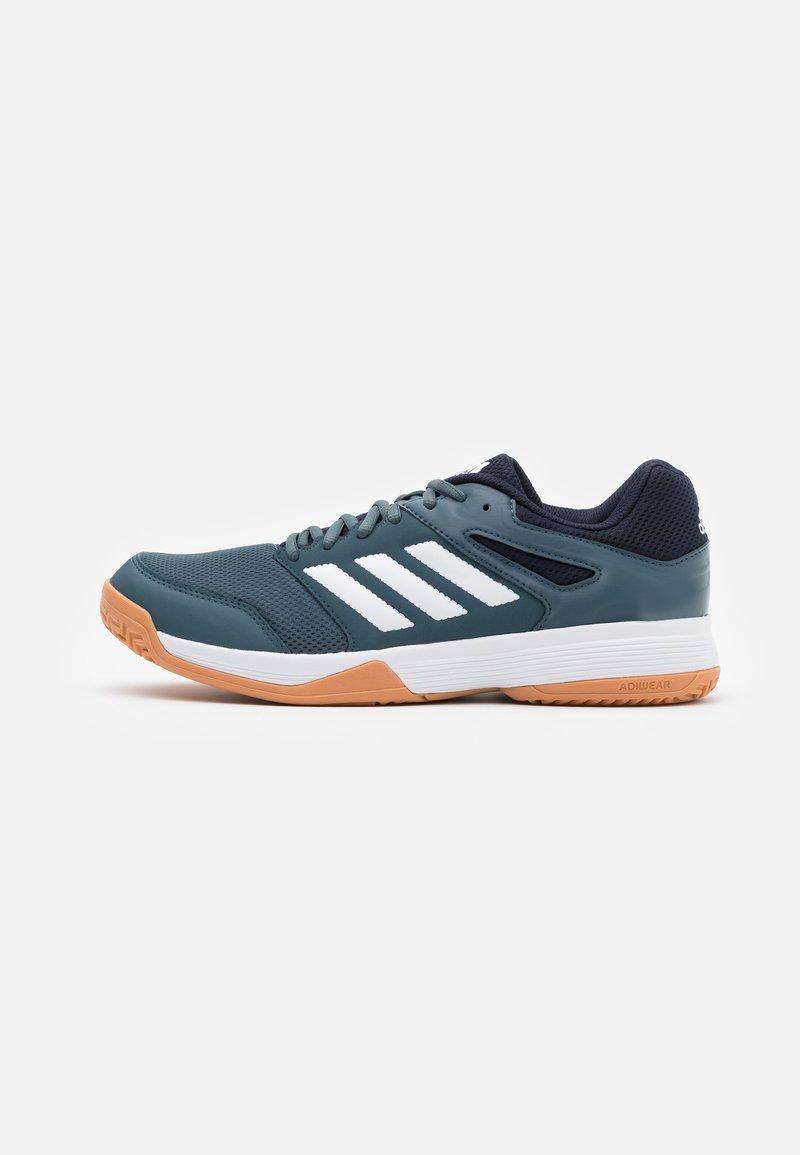 adidas Performance - SPEEDCOURT INDOOR SPORTS - Zapatillas de voleibol - legend blue/footwear white/legend ink