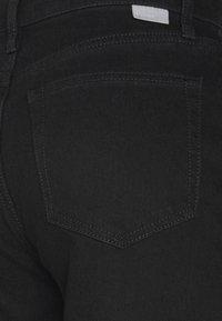 Boyish - THE MIKEY HIGH RISE WIDE LEG - Jeans baggy - black beauty - 3