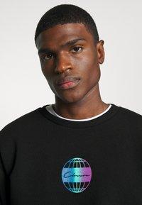 CLOSURE London - GLOBAL CREWNECK - Sweatshirt - black - 3