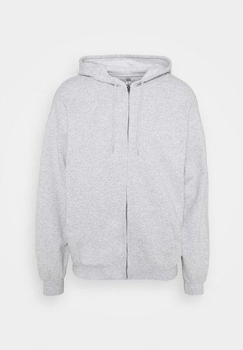 ZIP UP HOODIE UNISEX - Mikina na zip - grey