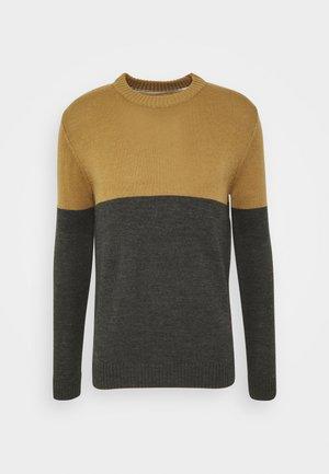 AKRICO - Strikpullover /Striktrøjer - beige/dark grey