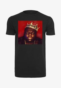 Mister Tee - BIG CROWN - Print T-shirt - black - 5