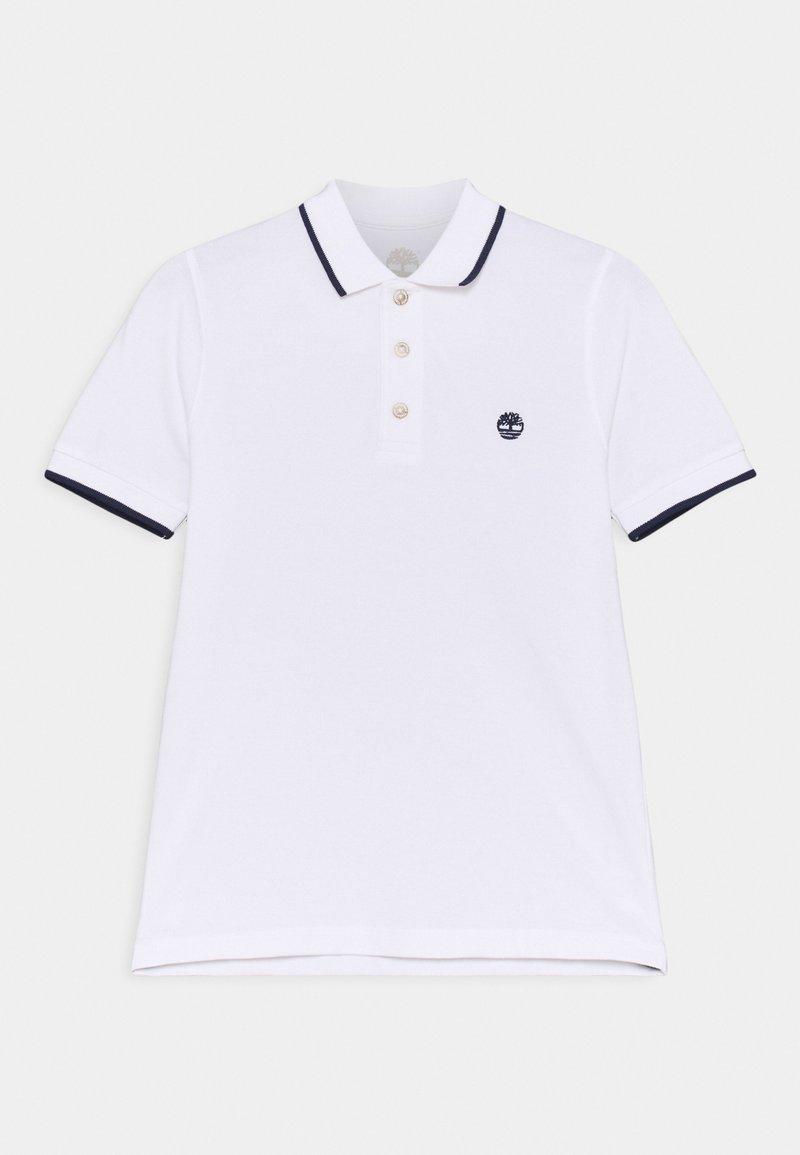 Timberland - SHORT SLEEVE - Polo shirt - white