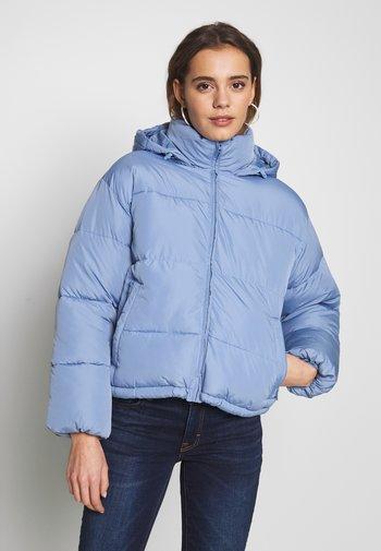 NOVELTY PUFFER JACKET - Winter jacket - blue