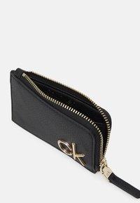 Calvin Klein - CARDHOLDER ZIP - Wallet - black - 2