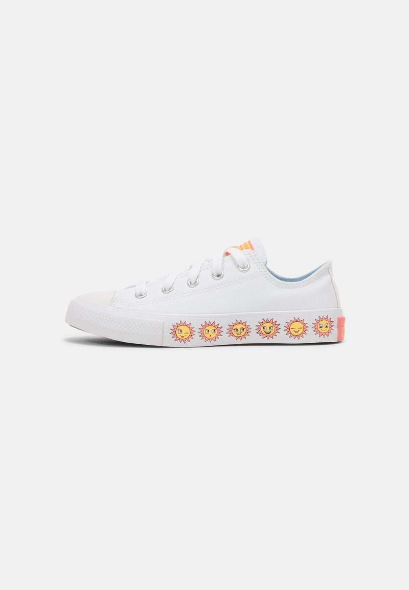 Converse - CHUCK TAYLOR ALL STAR SUNNY SIDE UNISEX - Trainers - white/chambray blue/pink gaze