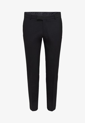 ACTIVE - Suit trousers - black