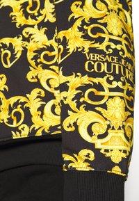 Versace Jeans Couture - LOGO BAROQUE  - Sweatshirt - black - 5