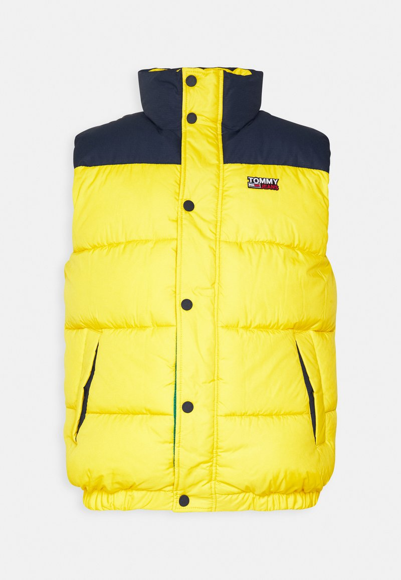 Tommy Jeans - CORP VEST - Veste - valley yellow
