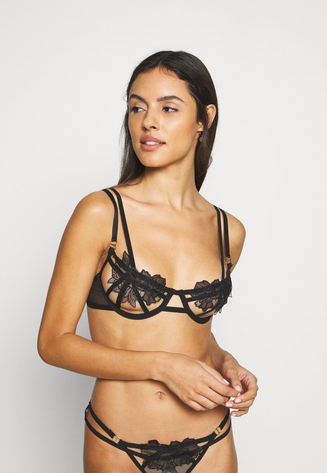 TEMPEST BRA - Underwired bra - black