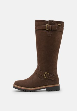 Boots - dark brown