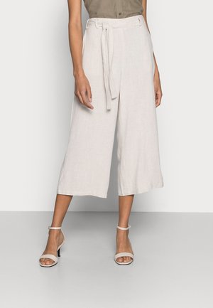KALINY PANTS CROPPED - Bukse - light sand