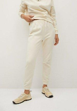 RIVI-A - Teplákové kalhoty - écru