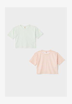 2PACK - Camiseta estampada - turquoise