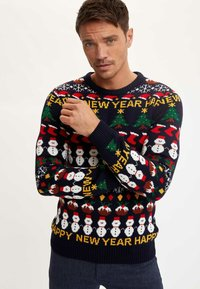 DeFacto - NEW YEAR - Jumper - navy - 0