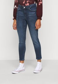 Pieces Petite - PCDELLY - Jeans Skinny Fit - dark blue - 0
