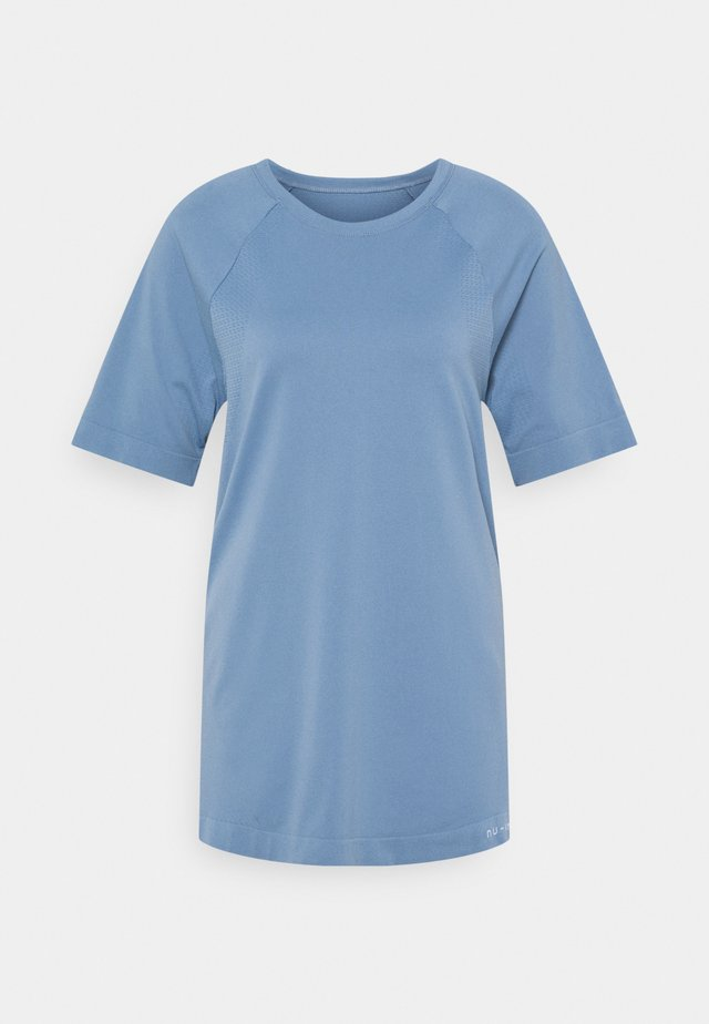 SHORT SLEEVE TRAINING  - T-shirt basique - blue