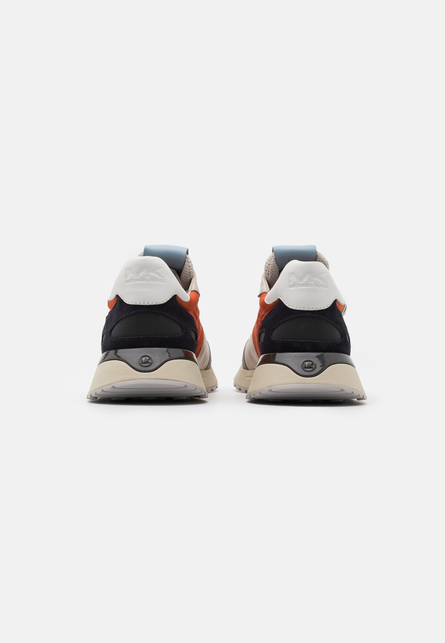 Michael Kors MILES - Sneaker low - tangerine/weiß - Herrenschuhe ooHfH