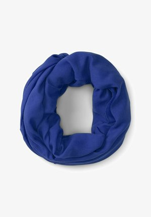 Écharpe tube - anemone blue
