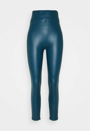 PRISCILLA  - Leggings - Trousers - blue opal