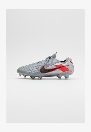 LEGEND 8 ELITE FG - Moulded stud football boots - metallic bomber grey/black/particle grey