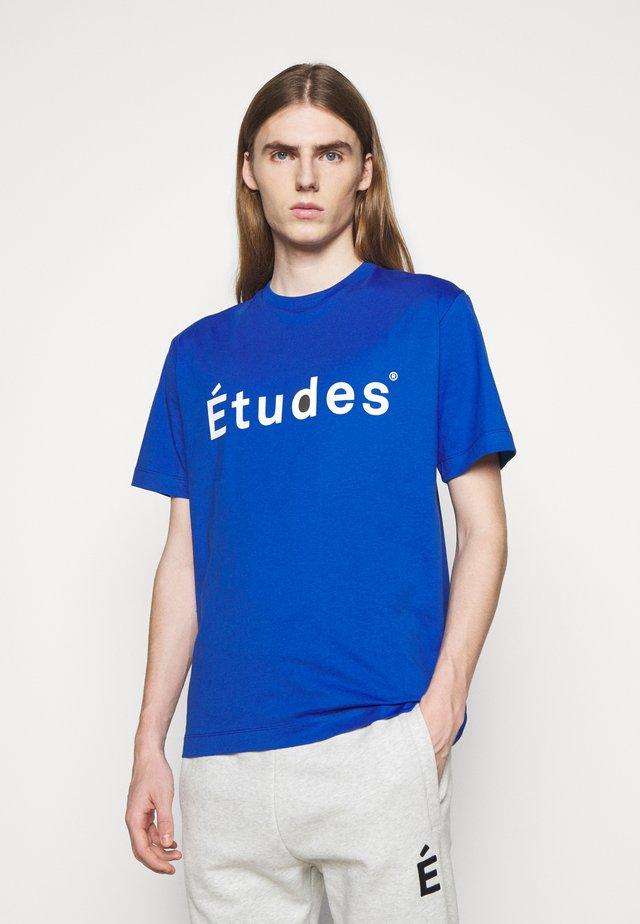UNISEX - T-shirts print - blue