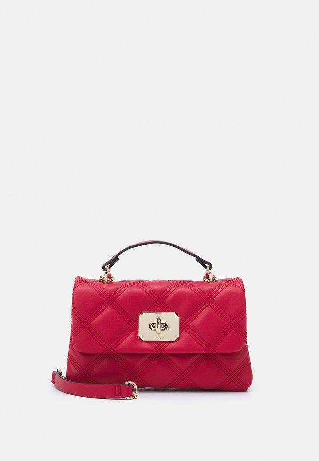 CROSSBODY HEXAGON  - Handbag - red
