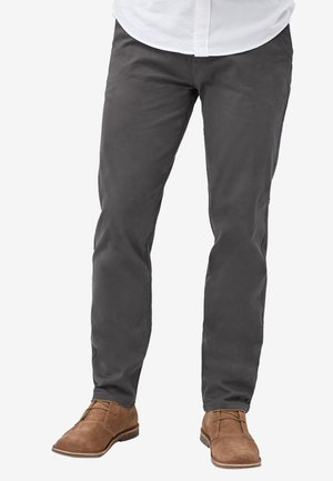 SLIM FIT - Chino kalhoty - dark grey